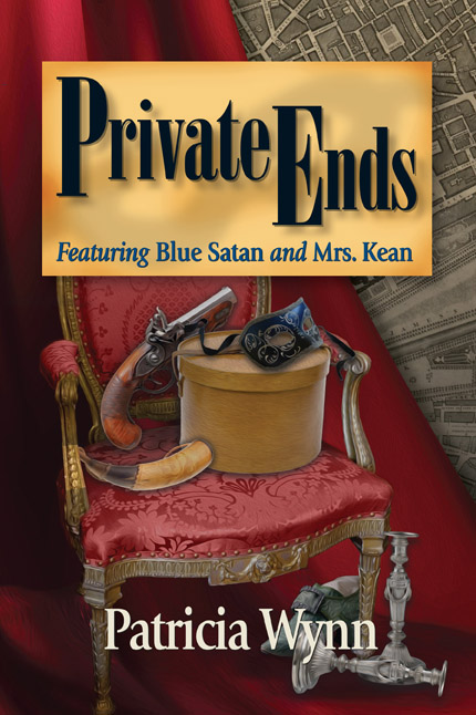 Cover of Private Ends by Patricia Wynn